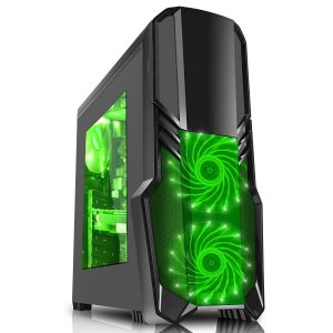 PC Gehäuse grün CiT G