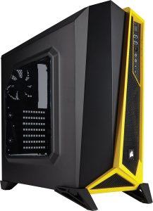 Corsair PC Gehäuse gelb