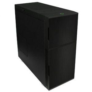 Nanoxia PC Gehäuse schlicht schwarz